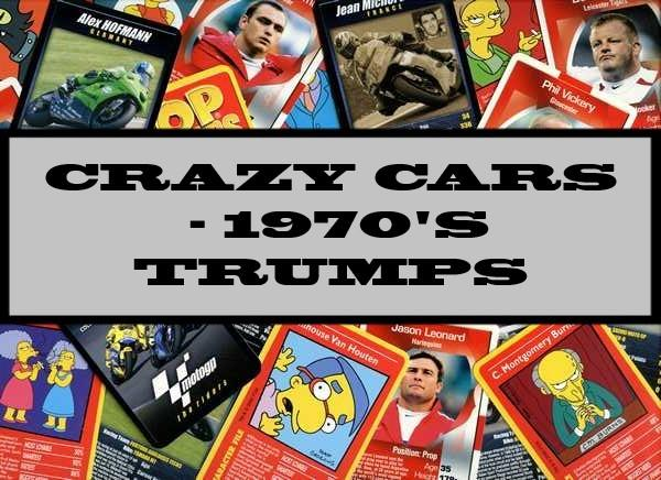 Crazy Cars - 1970's Ace