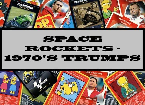 Space Rockets - 1970's Ace