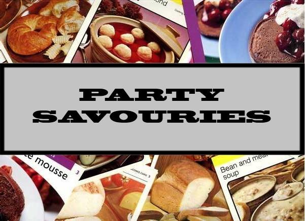 Party Savouries