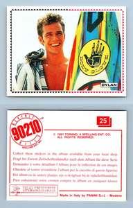 Group #115 Beverly Hills 90210 Panini 1991 Sticker