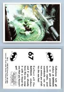 Batman Movie #53 Merlin 1989 Sticker
