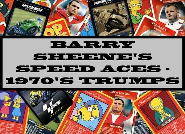 Barry Sheene's Speed Aces - 1970's Ace