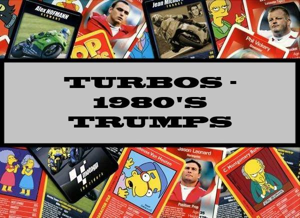 Turbos - 1980's Waddingtons