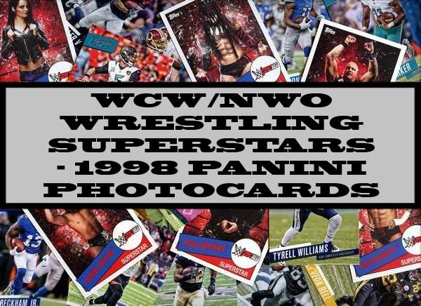 WCW/NWO Wrestling Superstars - 1998 panini Photocards