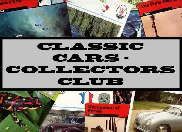Classic Cars - Collectors Club