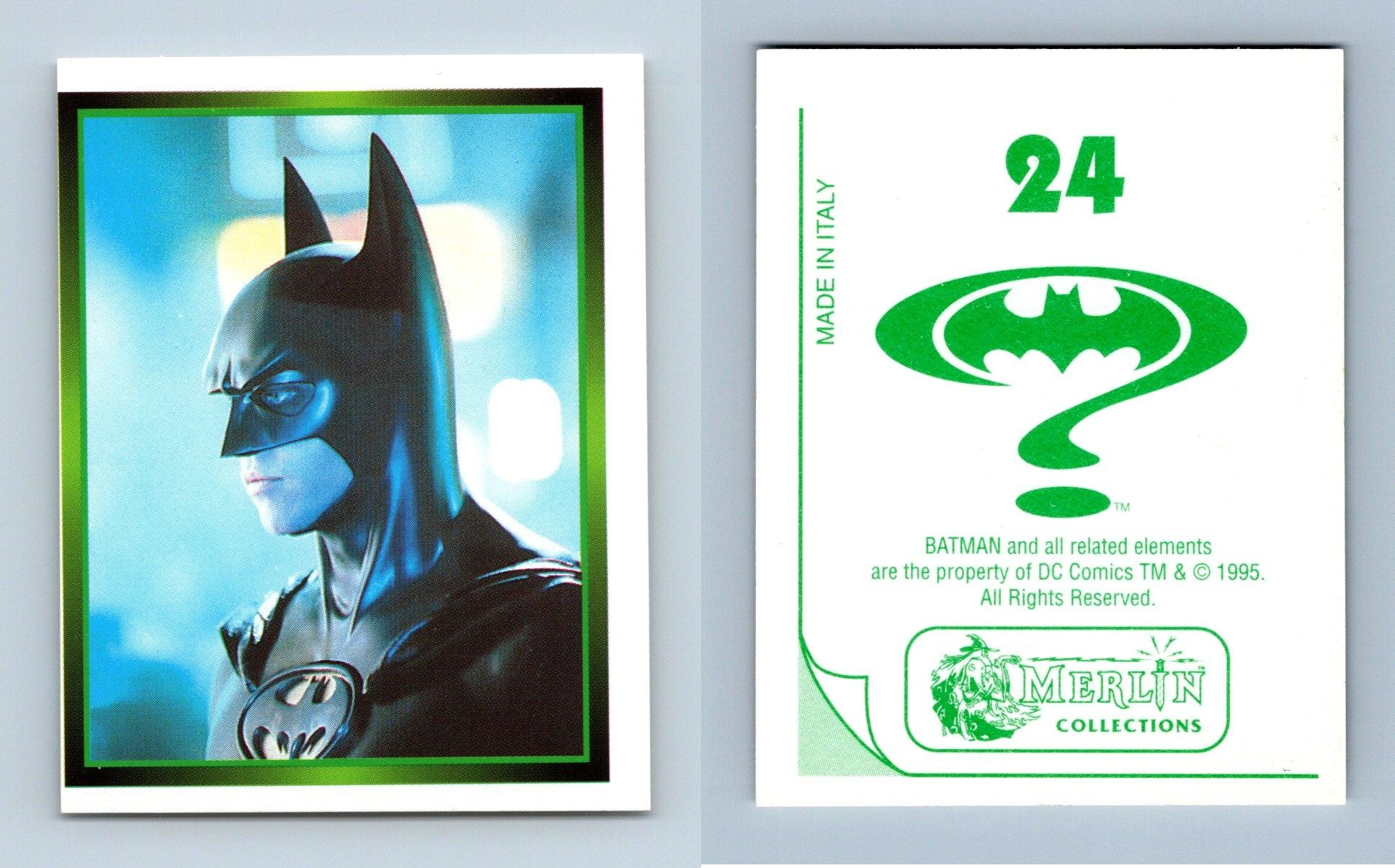 Batman Forever Movie #108 Merlin 1995 Foil Sticker