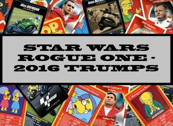 Star Wars Rogue One - 2016 Play & Discover