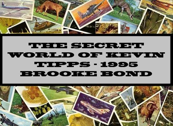 Secret Diary Kevin Tipps - 1995 Brooke Bond