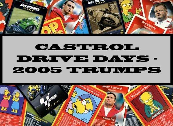 Castrol Drive Days - 2005 Winning Moves