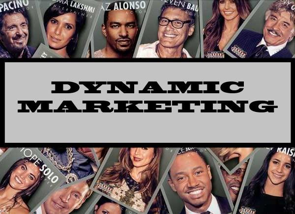 Dynamic Marketing
