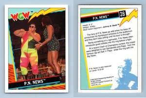 Van Hammer #29 WCW 1992 TOPPS Wrestling trading card