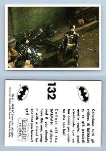 Batman Movie #132 Merlin 1989 Sticker