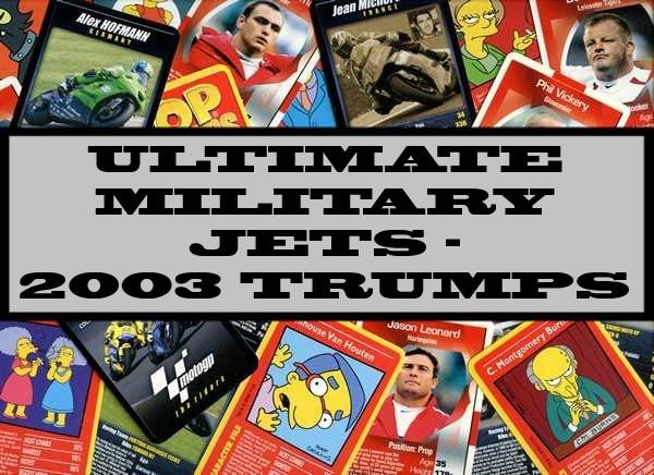 Ultimate Military Jets - 2003 Winning Moves