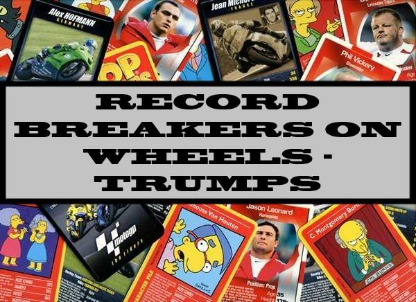 Record Breakers On Wheels - Ace