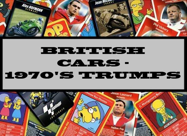 British Cars - 1970's Ace