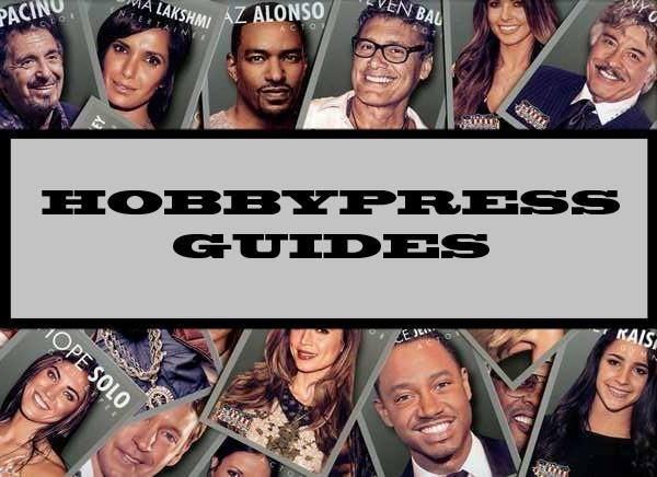Hobbypress Guides