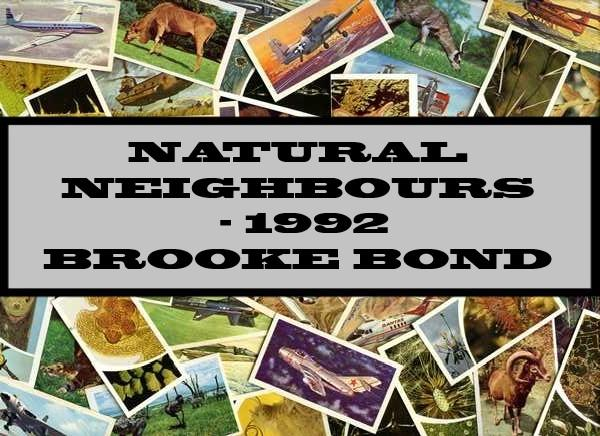 Natural Neighbours - 1992 Brooke Bond