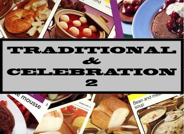 Traditional & Celebration 2