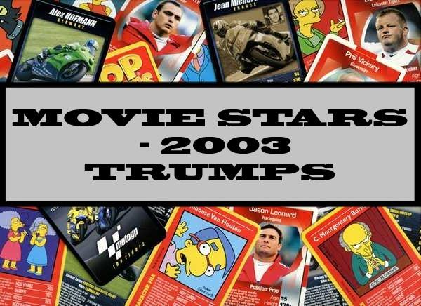 Movie Stars - 2003 Winning Moves