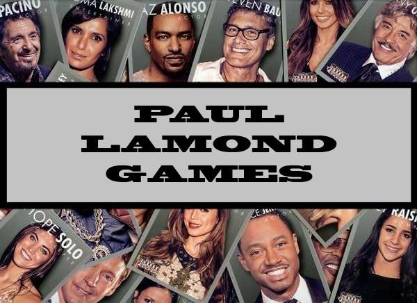 Paul Lamond Games