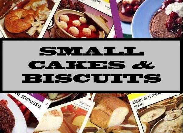 Small Cakes & Biscuits