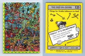 Last Days Of The Aztecs #43 Where/'s Waldo 1991 Mattel Trading Card