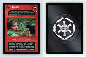 Star Wars CCG Endor Card Sneak Attack