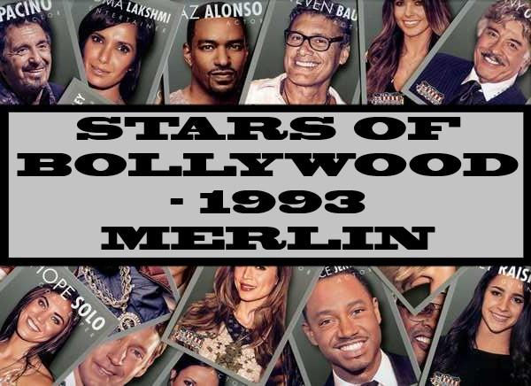 Stars Of Bollywood - 1993 Merlin