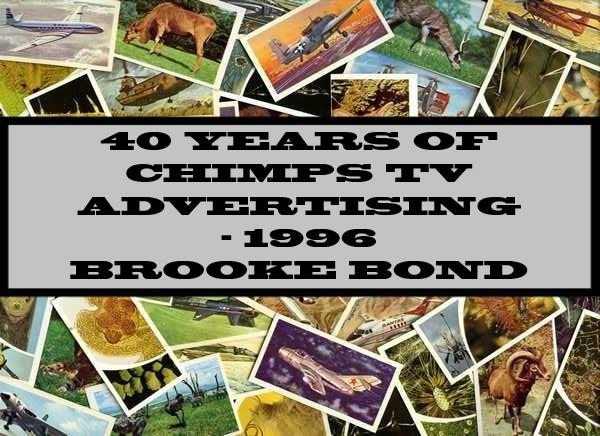 40 Years Of Chimps TV Advertising - 1996 Brooke Bond