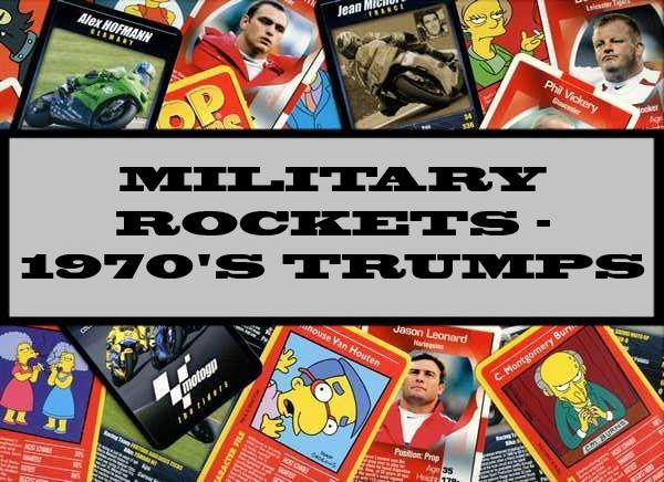 Military Rockets - 1970s Ace