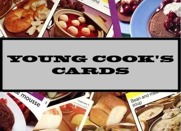 Young Cook's Cards