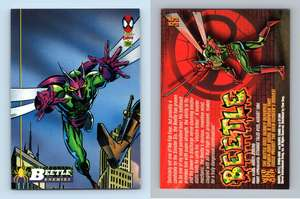 The Spider/'s Bite #128 The Amazing Spider-Man 1994 Fleer Trading Card