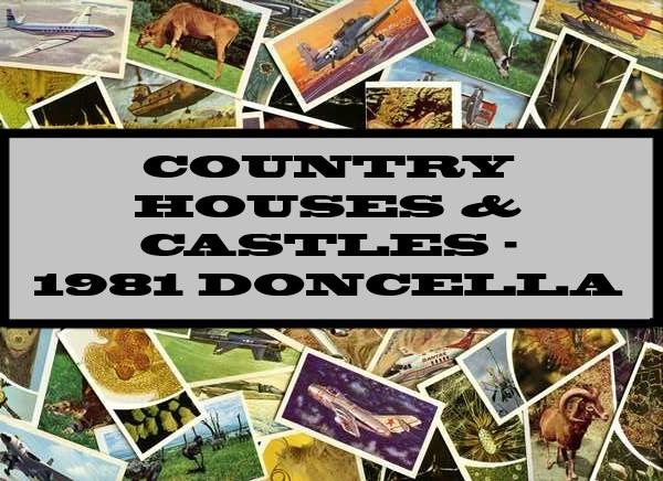 Country Houses & Castles - 1981 Doncella