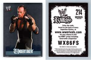 Triple H #172 WWE Rivals 2009 Topps Wrestling Sticker