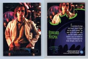 Robin Under Glass #116 Batman Forever 1995 Fleer Ultra Trading Card