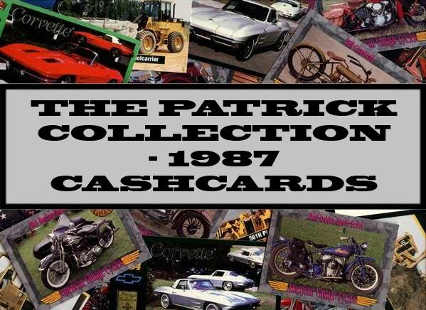 The Patrick Collection - 1986 Cashcards