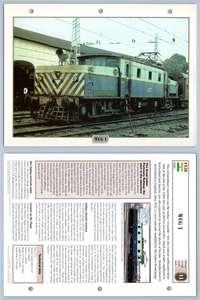 Cambodian Railways Legendary Trains Maxi Card Distant Lands