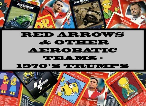 Red Arrows & Other Aerobatic Teams - 1970's Ace