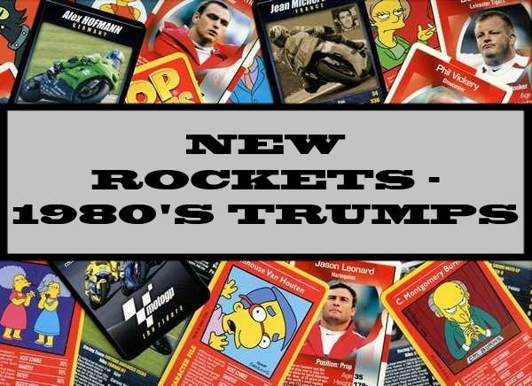 New Rockets The Latest Super Weapons - 1980's Waddingtons