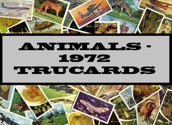 Animals - 1972 Trucards