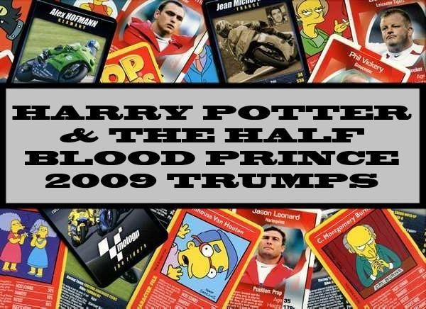 Harry Potter & The Half Blood Prince - 2009 Winning Moves
