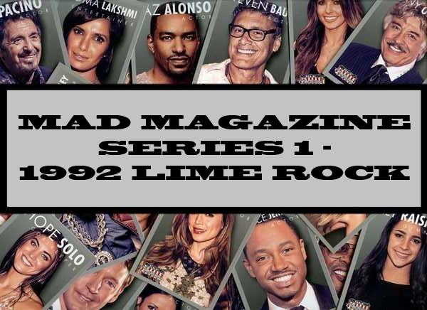 Mad Magazine Series 1 - 1992 Lime Rock
