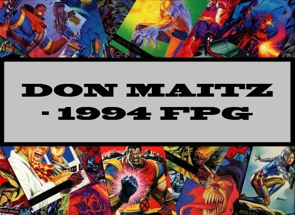 Don Maitz - 1994 FPG
