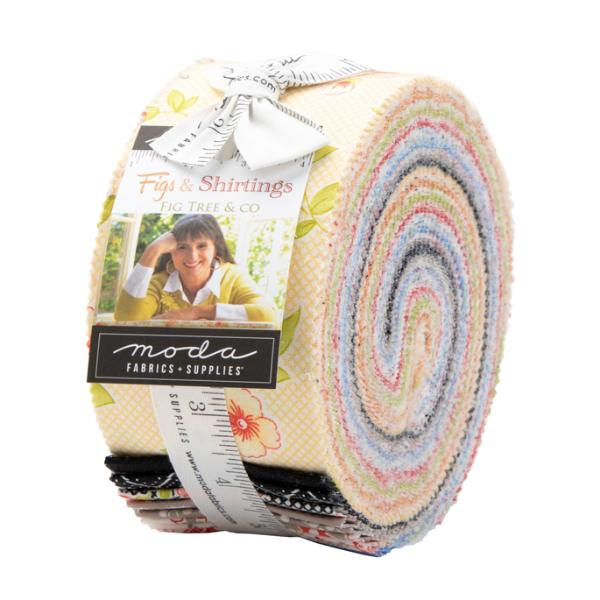 Moda Figs & Shirtings Jelly Roll