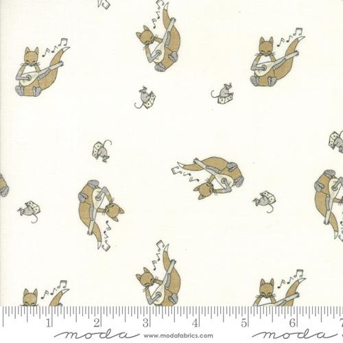 Moda Fabric Hushabye Hollow - Cloud Fox & Lute