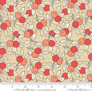 Moda Fabric Chestnut Street - Chestnut Berries 20273-15