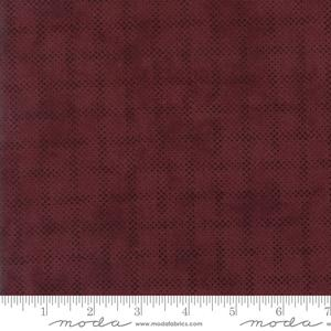 Moda Fabric Courtyard - Bordeaux Plaid Mist 44128-13