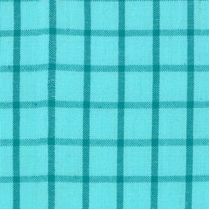 Moda Wee Wovens Bright - Plaid Aqua 12127-17