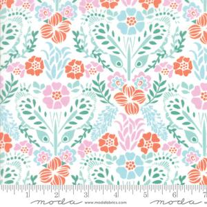 Moda Fabric - Grand Canal - Cloud Aqua Giardinin