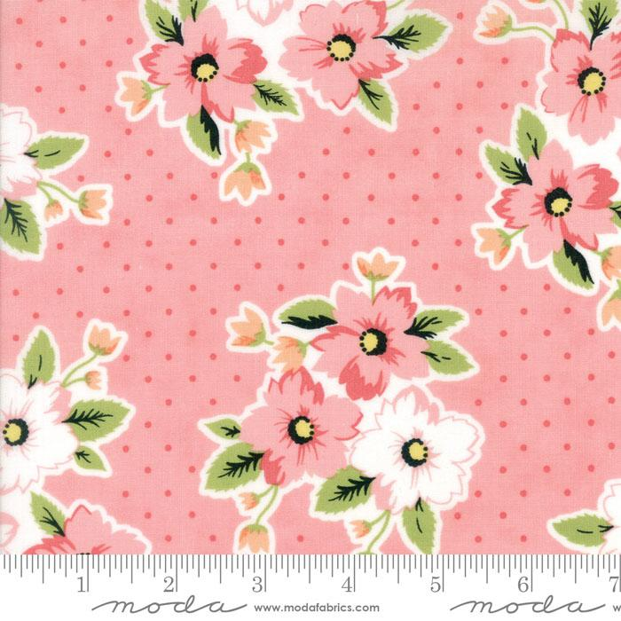 Moda Fabric - Olive's Flower Market - Pretty Pink Nosegay